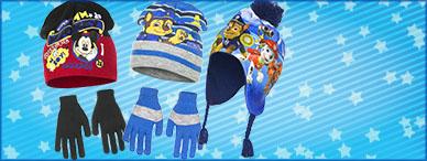 Gorros, bufandas, guantes